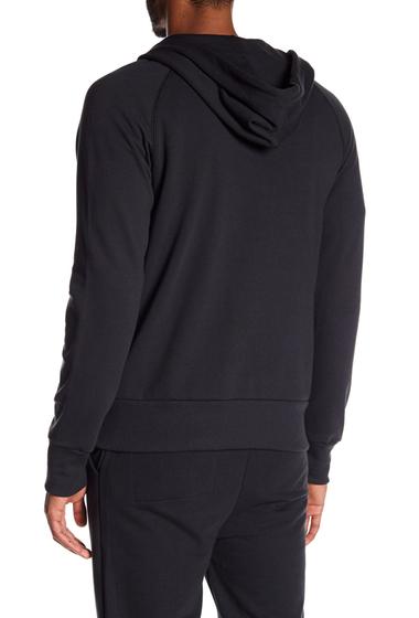 Imbracaminte Barbati Alternative Apparel Franchise Zip-Up Hoodie BLACK