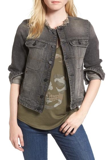 Imbracaminte Femei Zadig Voltaire Love Now Crop Denim Jacket GRIS