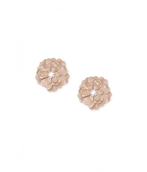 Bijuterii Femei Forever21 Floral Rhinestone Stud Earrings BLUSHCLEAR