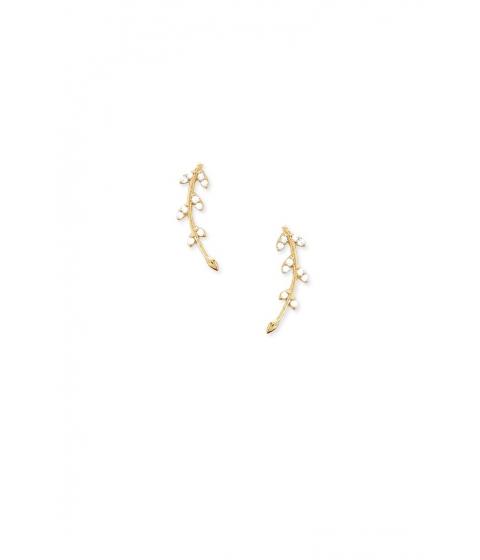 Bijuterii Femei Forever21 Rhinestone Leaf Ear Pins GOLD