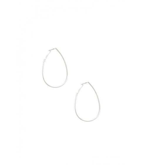 Bijuterii Femei Forever21 Teardrop Hoop Earrings SILVER