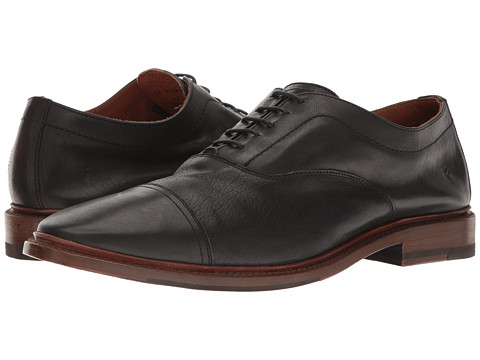 Incaltaminte Barbati Frye Paul Bal Oxford Black Pressed Full Grain