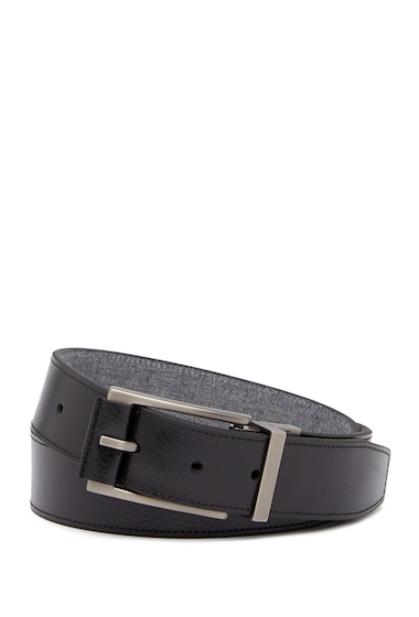 Accesorii Barbati Boconi Reversible Leather Belt BLACKBLUE