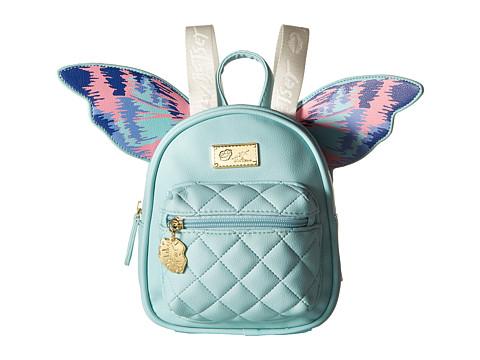 Genti Femei Luv Betsey by Betsey Johnson Flutter Kitch Wing Mini Backpack Mint