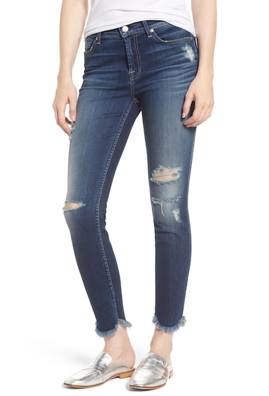 Imbracaminte Femei 7 For All Mankind The Ankle Skinny Jeans LIBERTY3
