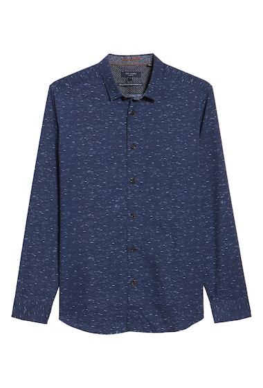Imbracaminte Barbati Ted Baker London Nep Print Sport Shirt NAVY