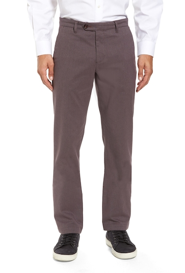 Imbracaminte Barbati Ted Baker London Freshman Modern Fit Brushed Pants PURPLE