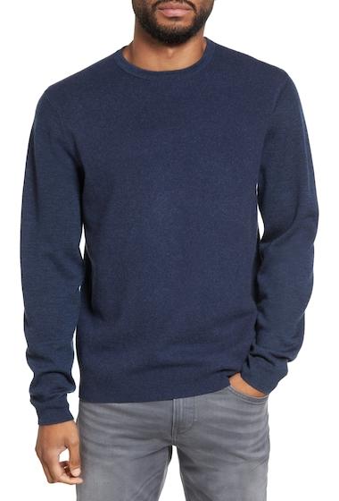 Imbracaminte Barbati CALIBRATE Merino Wool Blend Sweater NAVY IRIS