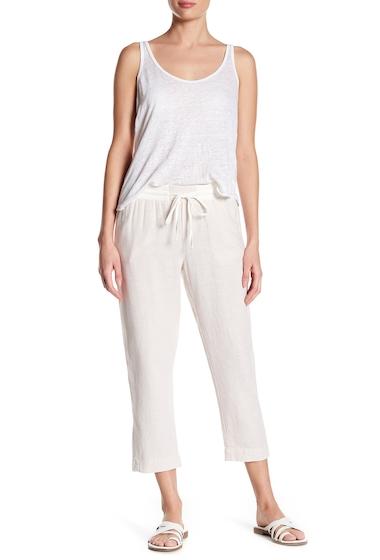Imbracaminte Femei SUSINA Yarn Drawstring Linen Blend Pants Regular Petite FLAX CD