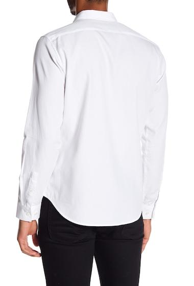 Imbracaminte Barbati Theory Waffle Regular Fit Shirt WHT