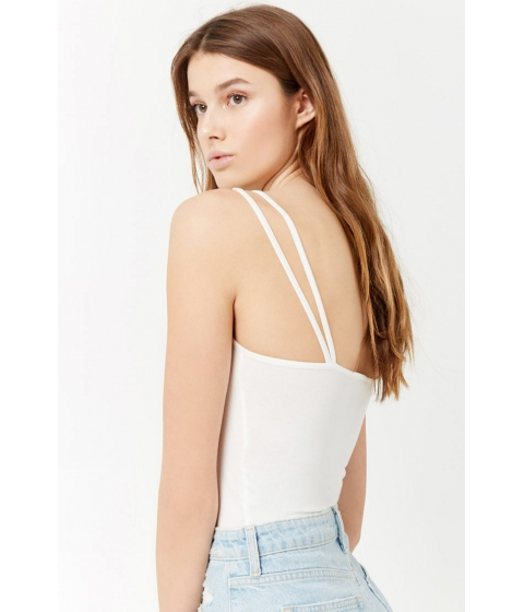 Imbracaminte Femei Forever21 Cropped Cami Tank Top WHITE