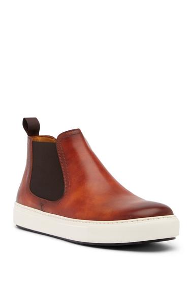 Incaltaminte Barbati Magnanni Bienvenido Leather High Top Sneaker COGNAC