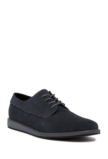 Incaltaminte Barbati Calvin Klein Willy Calf Suede Derby DARK GREY