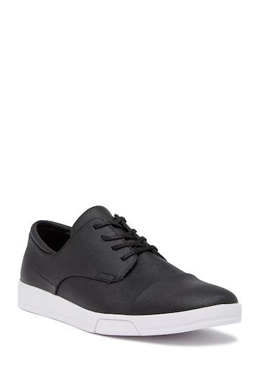 Incaltaminte Barbati Calvin Klein Bailey Saffiano Cap Toe Sneaker BLACK