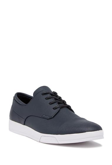 Incaltaminte Barbati Calvin Klein Bailey Saffiano Cap Toe Sneaker DARK NAVY