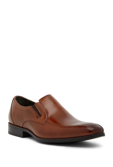 Incaltaminte Barbati Stacy Adams Fairfax Perforated Loafer COGNAC