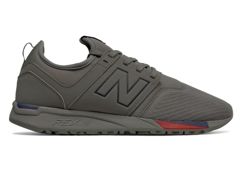 Incaltaminte Barbati New Balance 247 Classic Grey with Red
