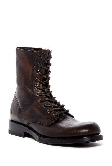 Incaltaminte Barbati Frye Folsom Leather Combat Boot COPPER