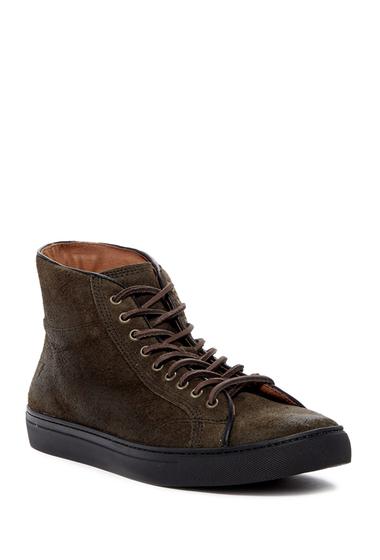 Incaltaminte Barbati Frye Walker Midlace Leather Sneaker FATIQUE