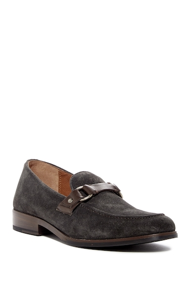 Incaltaminte Barbati Frye Jefferson Ring Keeper Suede Loafer CHARCOAL