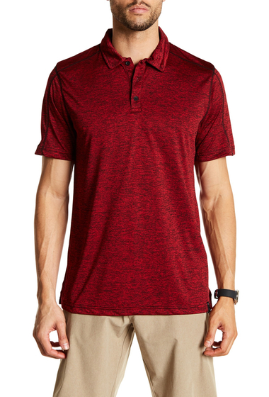 Imbracaminte Barbati Burnside Heather Performance Polo H-RED