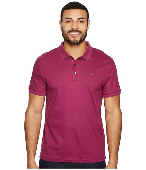 Imbracaminte Barbati Calvin Klein Liquid Touch Polo Shirt Plush Plum