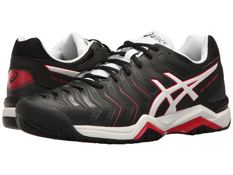 Incaltaminte Barbati ASICS Gel-Challenger 11 BlackWhiteVermillion