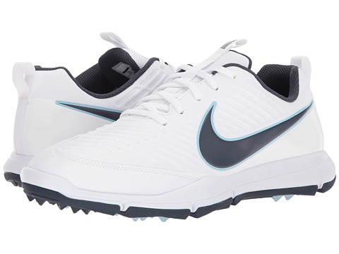 Incaltaminte Barbati Nike Golf Explorer 2 WhiteThunder BlueOcean Bliss