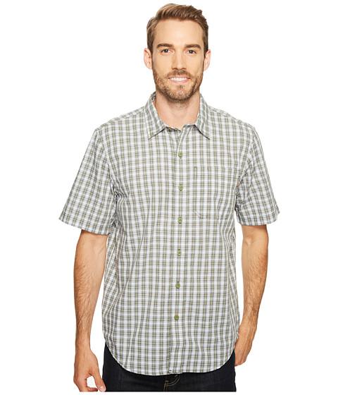 Imbracaminte Barbati Timberland Plotline Short Sleeve Plaid Work Shirt Oil Green Plaid
