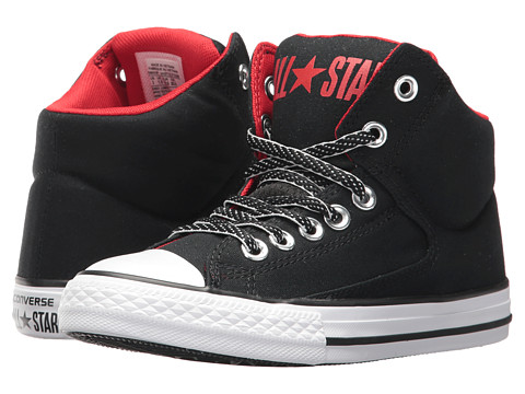 Incaltaminte Baieti Converse Chuck Taylor All Star High Street - Hi (Little KidBig Kid) BlackCasinoWhite