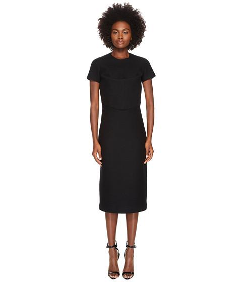 Imbracaminte Femei DSQUARED2 Amish Jersey Short Sleeve Dress Black