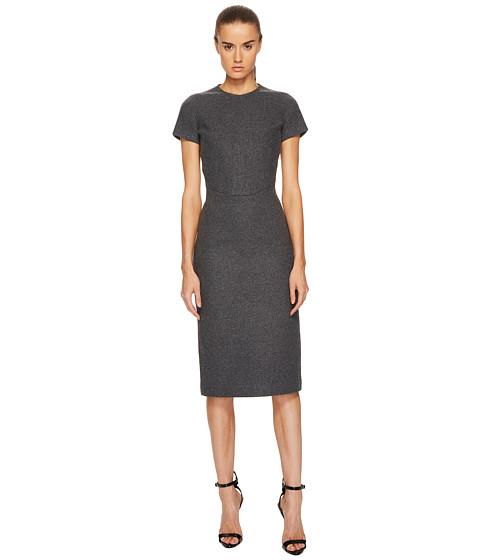 Imbracaminte Femei DSQUARED2 Amish Jersey Short Sleeve Dress Grey Melange