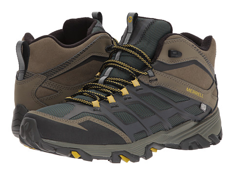 Incaltaminte Barbati Merrell Moab FST Ice Thermo Pine GroveDusty Olive