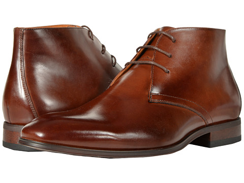 Incaltaminte Barbati Florsheim Corbetta Plain Toe Boot Cognac Smooth
