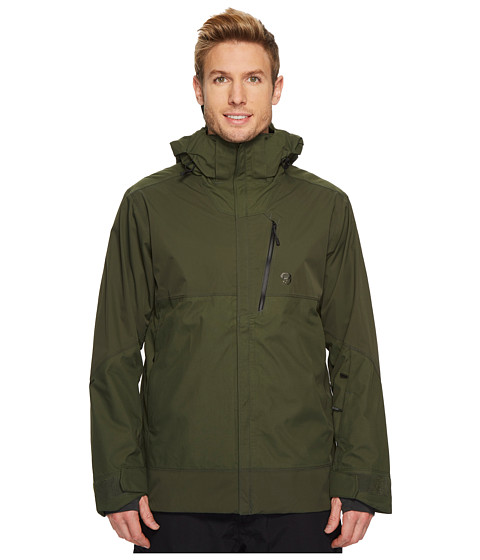 Imbracaminte Barbati Mountain Hardwear Superbird Jacket Surplus Green