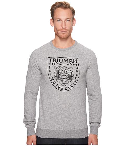 Imbracaminte Barbati Lucky Brand Triumph Crew Sweatshirt Heather Grey