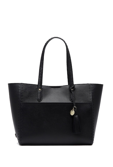Genti Femei Cole Haan Payson Leather Tote BLACK