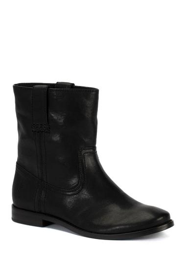 Incaltaminte Femei Frye Anna Leather Short Boot BLACK