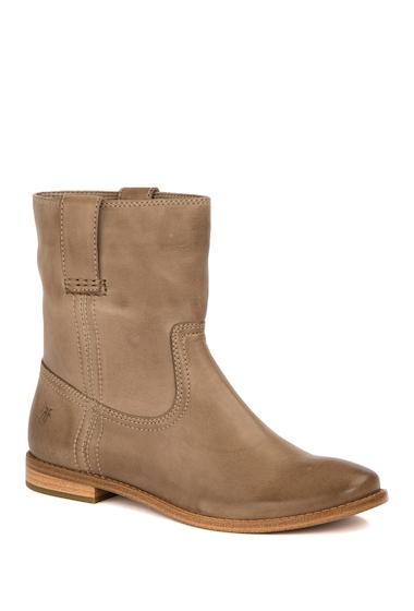 Incaltaminte Femei Frye Anna Leather Short Boot ASH