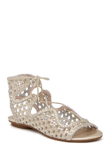 Incaltaminte Femei Joie Fannie Gladiator Sandal WHITE GOLD