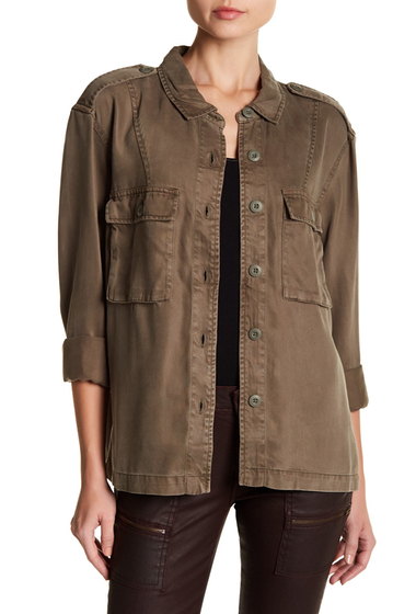 Imbracaminte Femei Joie Gionna Solid Jacket DUSTY CLOVER
