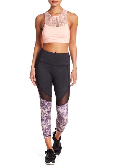 Imbracaminte Femei The Balance Collection Marley Mid Calf Leggings CRYSTAL OPALITY