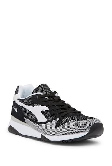 Incaltaminte Barbati Diadora Heritage V7000 Weave Suede Sneaker BLACKWHITEBLACK