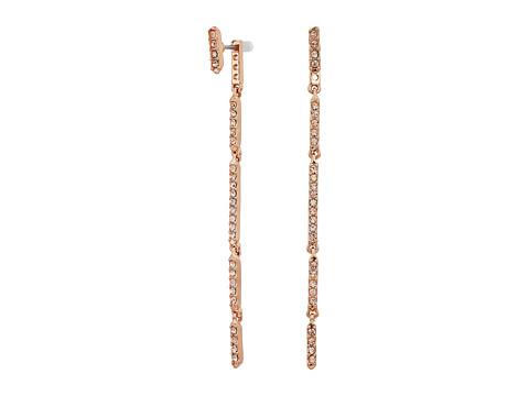 Bijuterii Femei Cole Haan Whisper Links Linear Earrings Rose Gold TonePeach