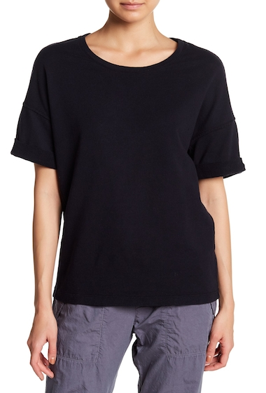 Imbracaminte Femei James Perse Drop Shoulder Terry Knit Tee FRENCH NAVY