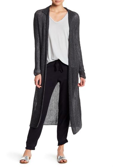 Imbracaminte Femei James Perse Open Knit Cashmere Cardigan CHARCOAL