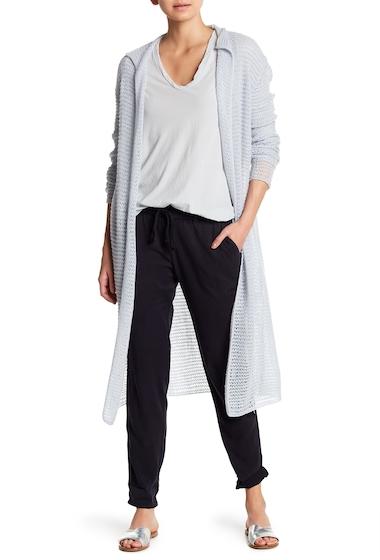 Imbracaminte Femei James Perse Open Knit Cashmere Cardigan HEATHER-BLUE-FOG