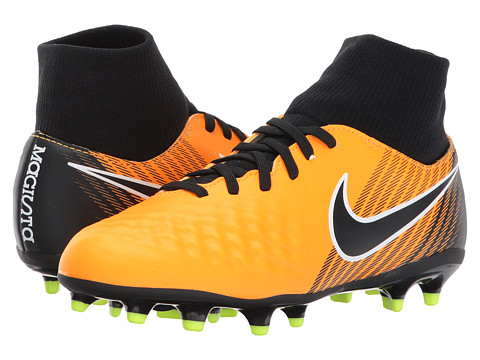 Incaltaminte Baieti Nike Magista Onda II Dynamic Fit Firm Ground Soccer (Little KidBig Kid) Laser OrangeBlackWhiteVolt