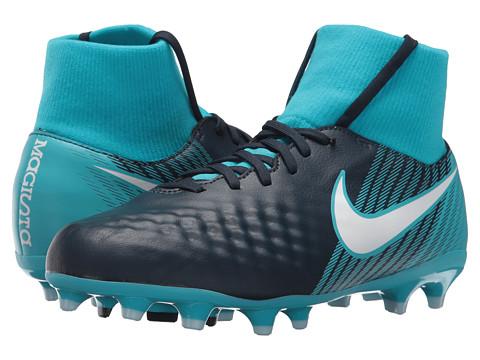 Incaltaminte Baieti Nike Magista Onda II Dynamic Fit Firm Ground Soccer (Little KidBig Kid) ObsidianWhiteGamma BlueGlacier Blue