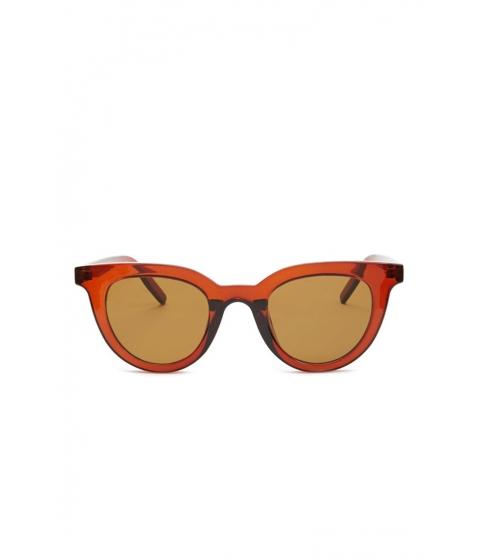 Ochelari Femei Forever21 Square Sunglasses BURGUNDYBROWN